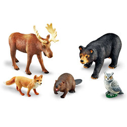Jumbo Animals Set, Forest