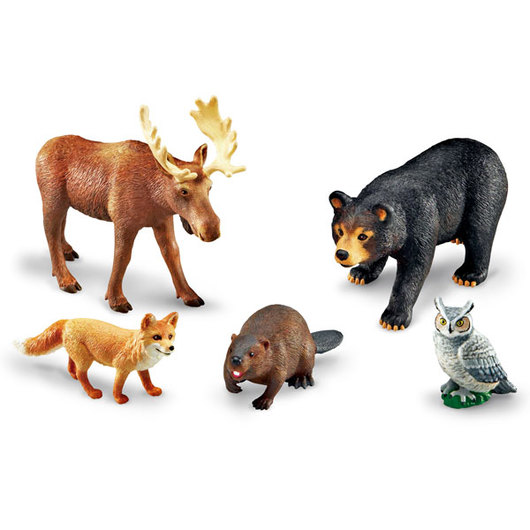 Jumbo Forest Animals Set