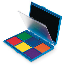 Learning Resources® 7-Color Washable Ink Stamp Pad