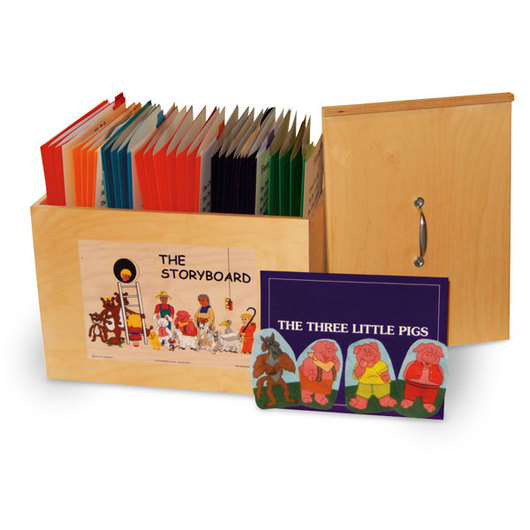 The StoryBox Deluxe Flannel Board Kit