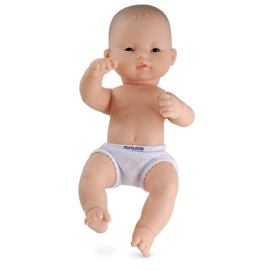 Newborn Baby Doll - Asian Boy