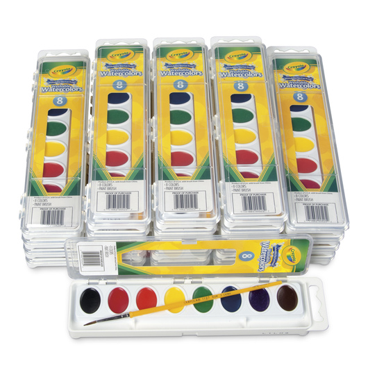Crayola® Washable Watercolors Classroom Pack
