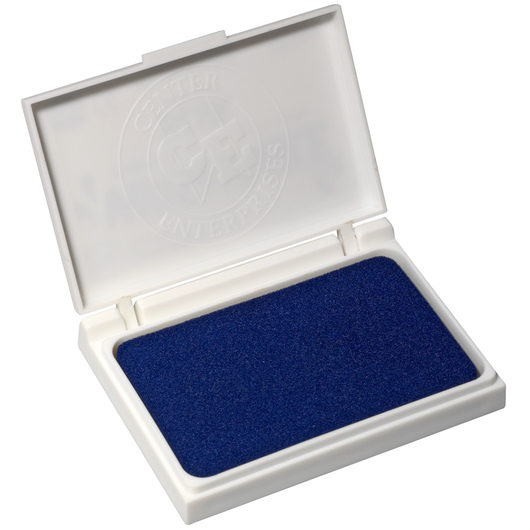 Washable Stamp Pad - 2-7/8 in. x 3-3/4 in. - Blue