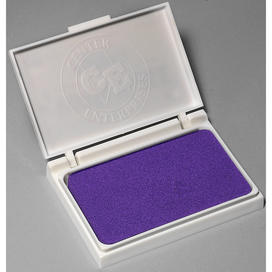 Washable Stamp Pad - 2-7/8 in. x 3-3/4 in. - Purple