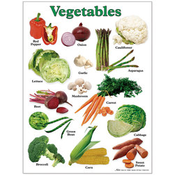 Nasco InsideView Posters, Vegetable