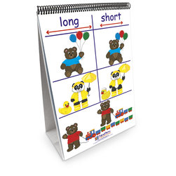 NewPath Learning® Math Readiness Flip Chart, Positions/Opposites