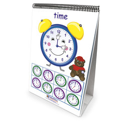 NewPath Learning® Math Readiness Flip Chart - Time, Money, and Measurement