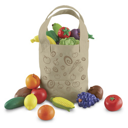 New Sprouts Fresh Picked Fruit & Veggie Tote