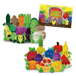 Garden Heroes Complete Set, Nutrition Education
