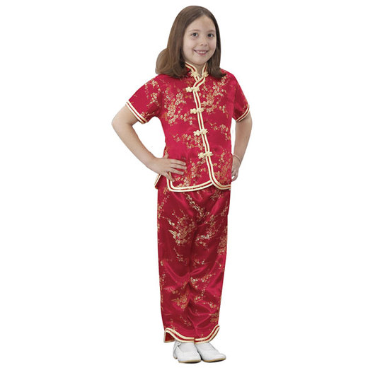 International Costume - Asian Girl