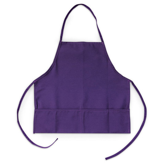 Little Chef Apparel - Medium Kid's Apron, Purple