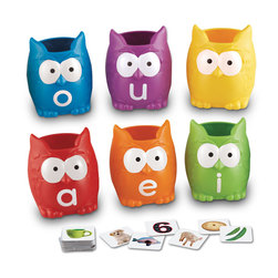 Vowel Owls Sorting Set
