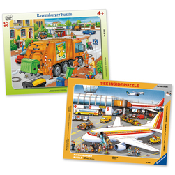 Workers Puzzle Set