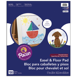 Pacon Easel and Floor Pad