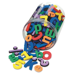 Pacon WonderFoam Magnetic Letters and Numbers