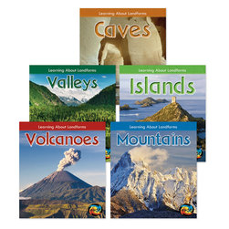 Learning About Landforms Book Collection