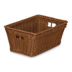 Wood Designs NaturalEnvironments Small Wicker Basket