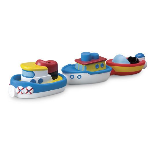 Magnetic Boats in the Tub™