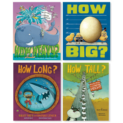 Wacky Comparisons Books - Set of 4