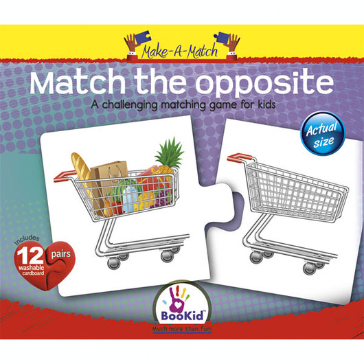 Make-A-Match Core Concepts Puzzles - Match the Opposite