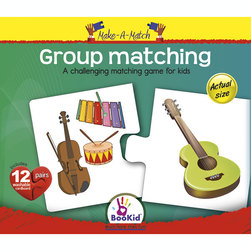 Make-A-Match Core Concepts Puzzles, Matching Group