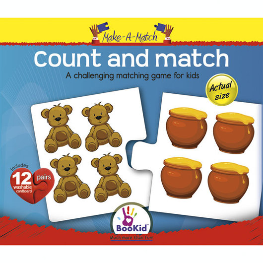 Make-A-Match Core Concepts Puzzles - Count and Match