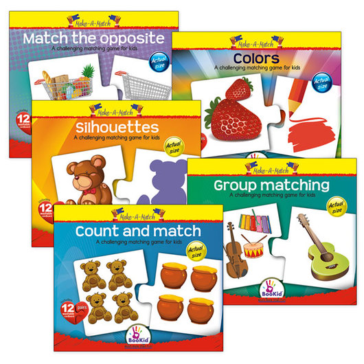 Make-A-Match Core Concepts Puzzles - Complete Set