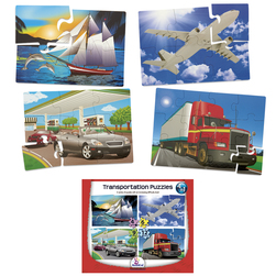 4 in 1 Puzzles, Transportation