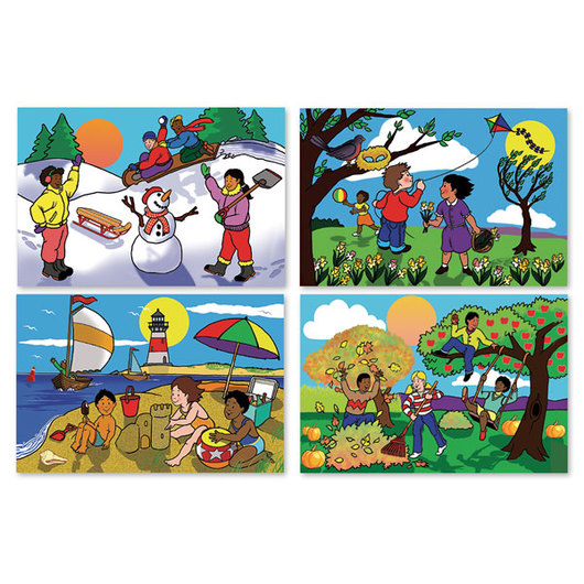 Seasons Floor Puzzles