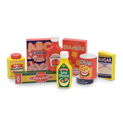 Wooden Groceries, Pantry Products