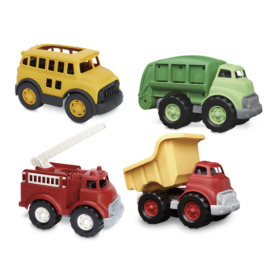 Green Toys® Land Vehicles Set - Set of 4
