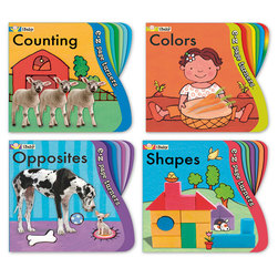 Toddler Concepts Board Books - Set of 4