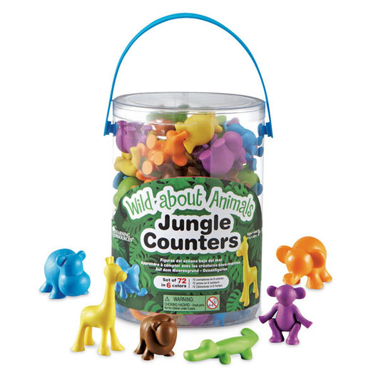 Wild About Animals Jungle Counters™