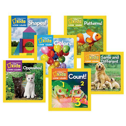 National Geographic Look and Learn Board Books