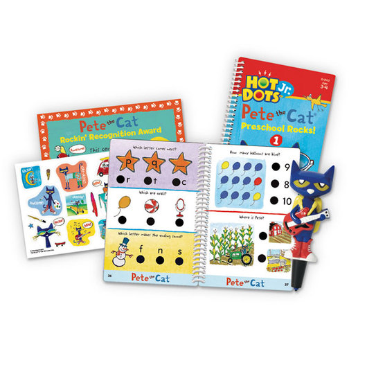 Hot Dots® Jr.™ Pete the Cat® Preschool Rocks! Level Two