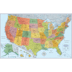 Rand McNally's Signature Wall Map