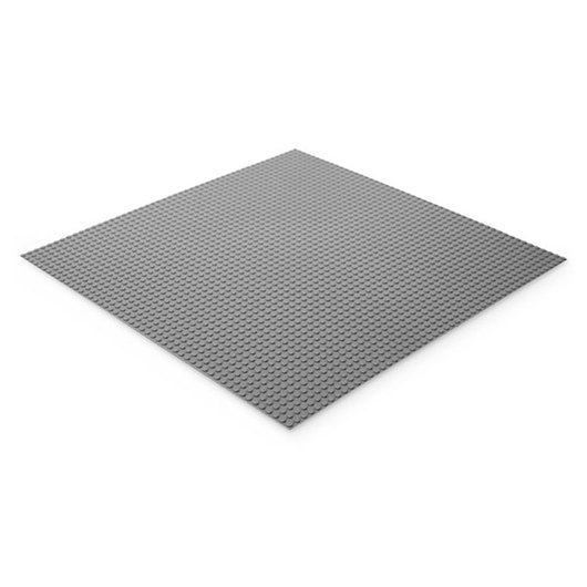 Brictek® Building Materials - Large Gray Base Plate