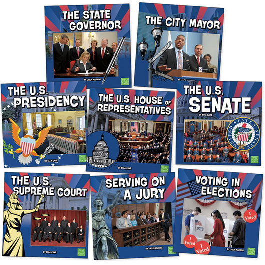 Our Government Books - Set of 8