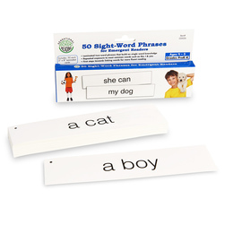 50 Sight-Word Phrases Card Set