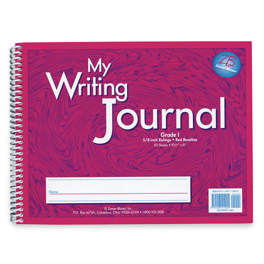 Zaner-Bloser® Writing Journals - Gr. 1 - Pink