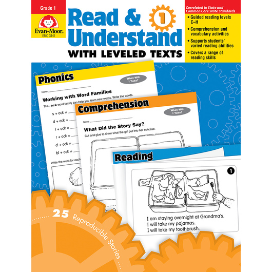 Read and Understand with Leveled Texts - Grade 1