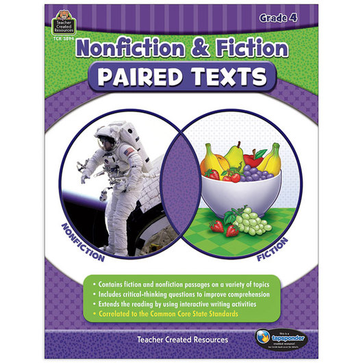 Nonfiction and Fiction Paired Texts - Grade 4