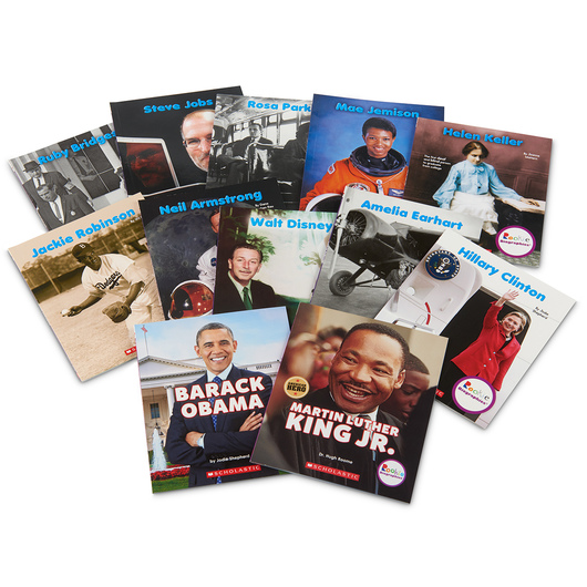 Rookie Biographies® Books - Set 2, 12 Books