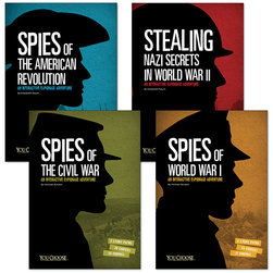 You Choose - Spies Books