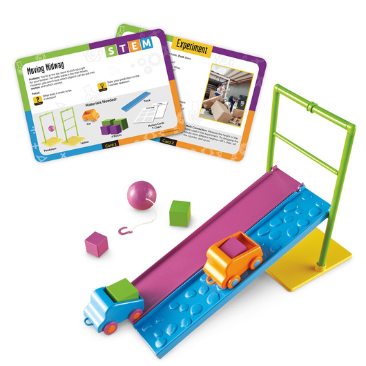 Learning Resources® Force and Motion STEM Activity Set
