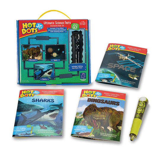 Hot Dots® Jr.™ Ultimate Science Facts Interactive Book Kit