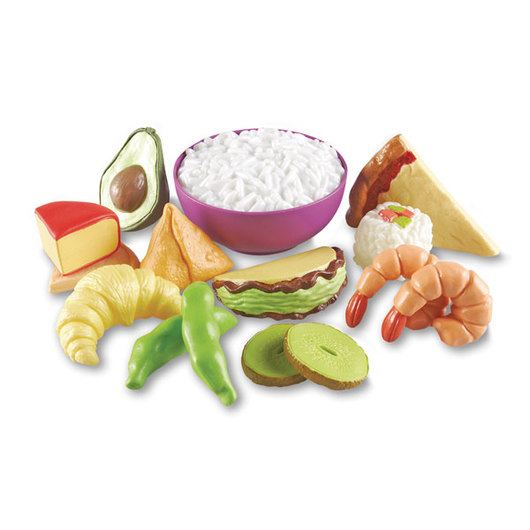 New Sprouts® Multicultural Food Set - Set of 15 Pieces