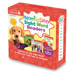 Scholastic Nonfiction Sight Word Readers