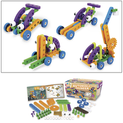 Kids First Engineering Kit with Storybook, Automobile Engineer
