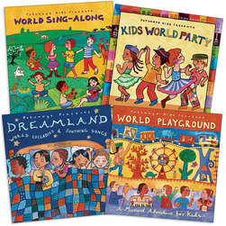 World Music Collection CDs - Set of 4